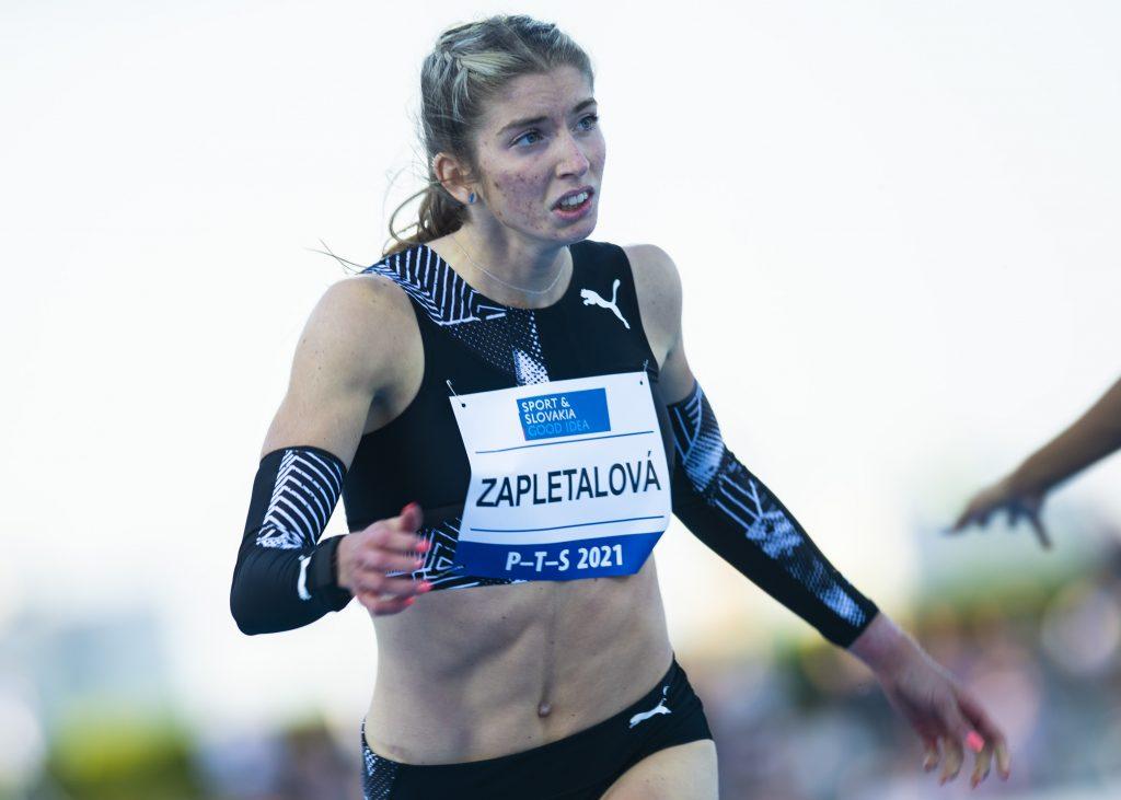 Prekážkarka Emma Zapletalová sa stala majsterkou Európy, o takmer sekundu pokorila slovenský rekord