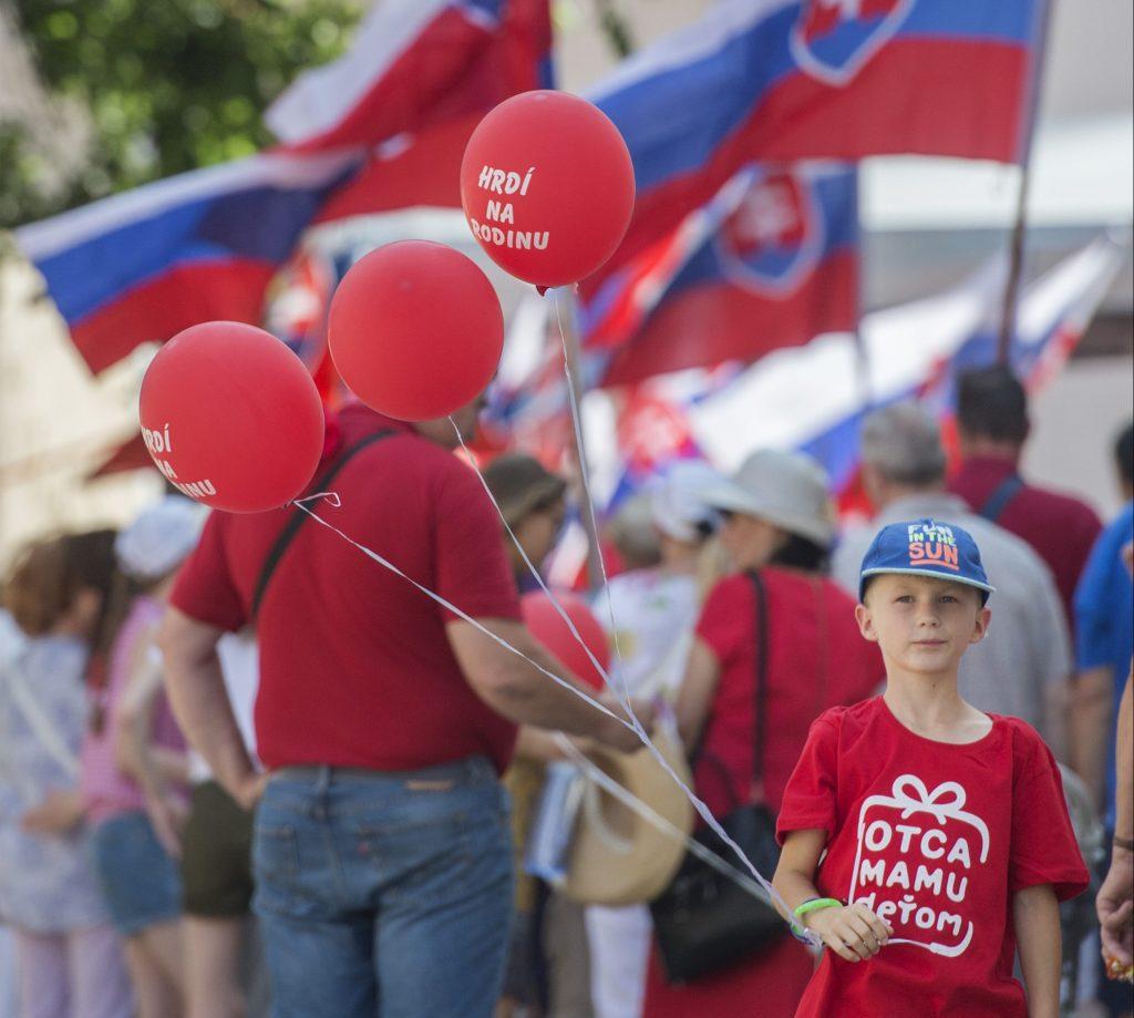 Pochod Hrdí na rodinu sa koná dnes v Bratislave