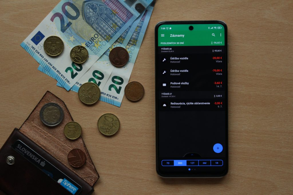 wallet aplikácia