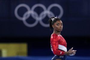Hurhaj okolo americkej gymnastky: čo vyhrať, odvaha je vzdať sa
