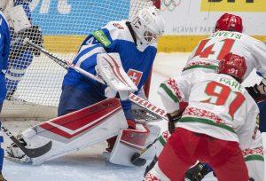 Slovenskí hokejisti porazili Bielorusko 2:1 a postúpili na olympiádu v Pekingu