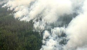 Lesný požiar v Jakutsku sa môže čoskoro stať najväčším v moderných dejinách