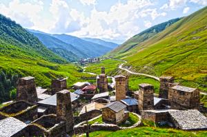 Mojich sedem divov je na Kaukaze