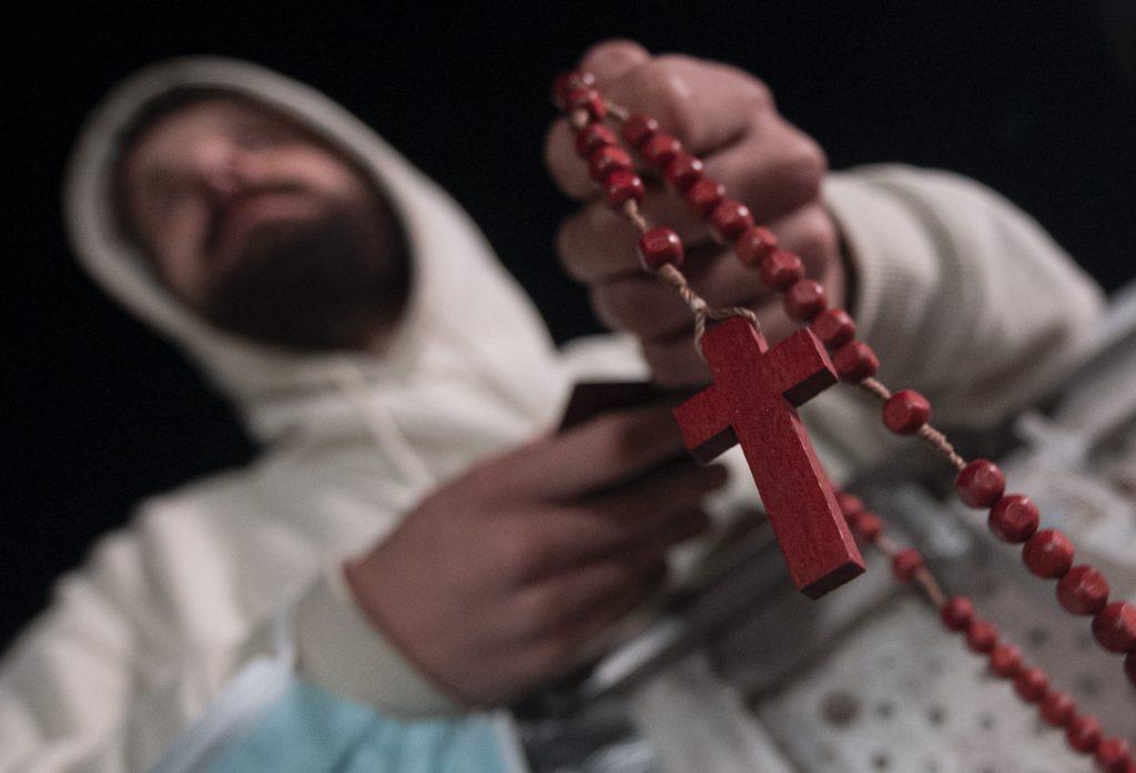 Sme v prvom rade kresťania, až potom Iračania či Slováci, hovorí iracký dobrovoľník v Šaštíne