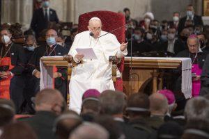 Pápežov príhovor v katedrále: Sloboda nie je automatickým výdobytkom, ktorý zostáva raz a navždy