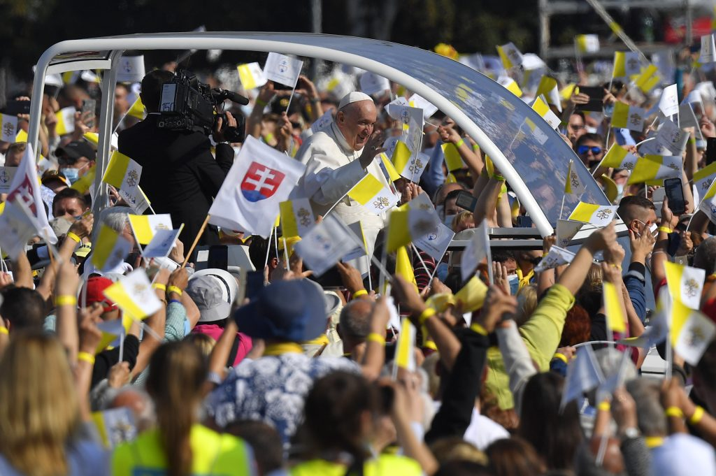 Reportáž z východu: Sláva Isusu Christu! Gréckokatolíci sa tešia, že pápež slávi byzantský obrad