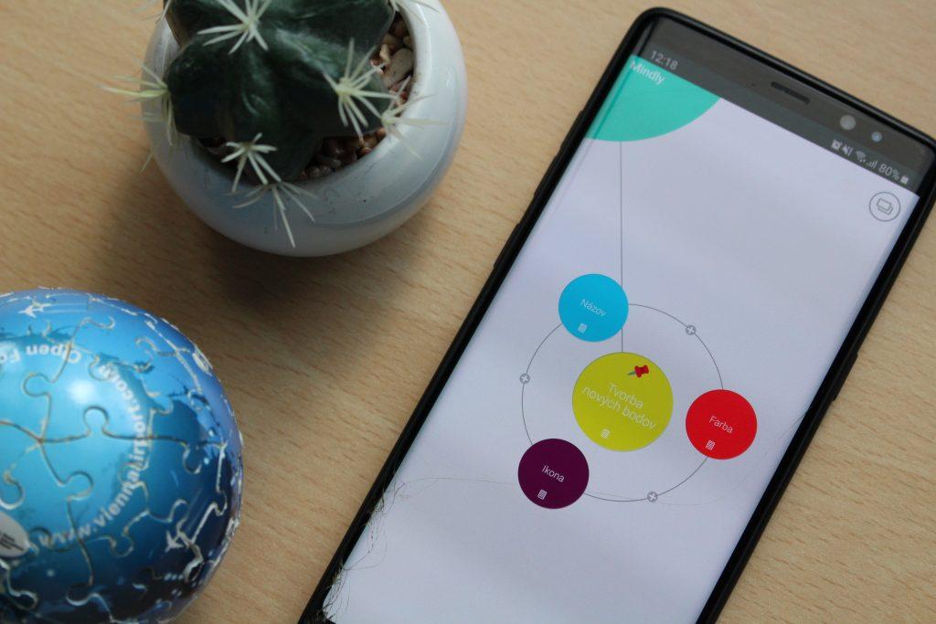 Aplikácia Mindly vám pomôže usporiadať si nápady do myšlienkových máp