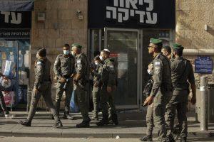 izraelskí policajti, Jeruzalem