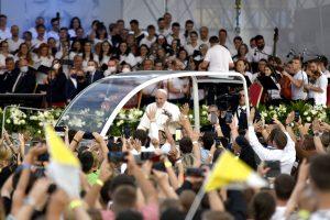 Tri silné momenty z návštevy pápeža Františka v Košiciach