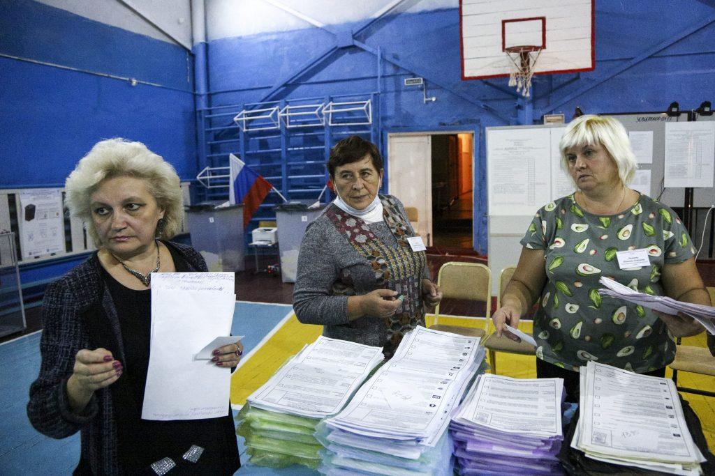 Jednotné Rusko vyhralo voľby. Druhí komunisti výsledky neuznali