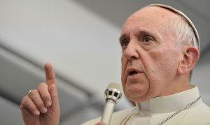 Čo pápež František v lietadle nepovedal