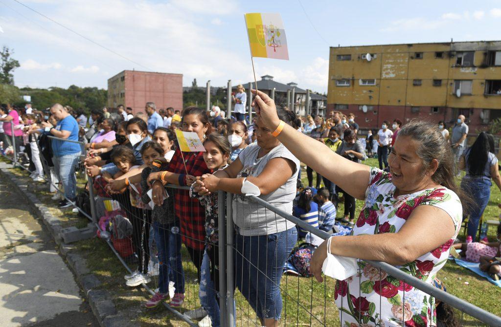 Pápež medzi Rómami: Dominovali pozitívne príklady a silné emócie