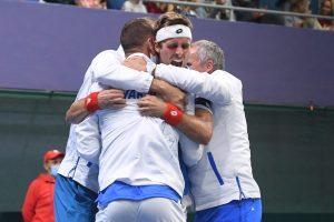 Slovenskí reprezentanti v tenise zvíťazili nad Čile, vedenie utvrdil Gombos