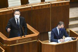 Kamenický by zmrazil platy ministrom, Matovič aj poslancom
