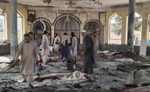 Kundúz Afganistan výbuch