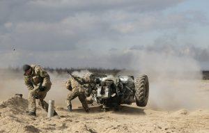 ukrajinská armáda cvičenie