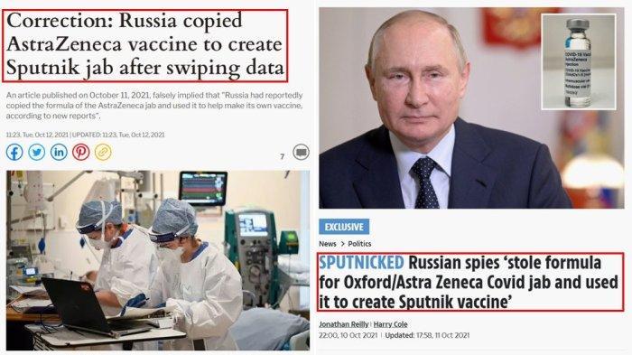 Britský bulvár sa ospravedlnil za tvrdenie, že Rusi ukradli vzorec pre Sputnik